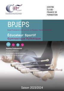 BPJEPS Gymnastique Rythmique - Saison 2020-2021 - INSCRIPTIONS CLOSES