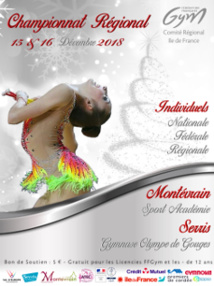 GR : Palmarès - Région Indiv - Montévrain et Serris, les 15 et 16 décembre 2018