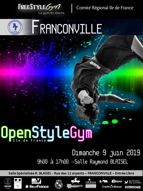 FREESTYLE GYM (FSG) : Rencontre Openstyle - Franconville - 09 juin 2019