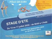 GR : Master Class et Stage d'été au Pôle Espoirs GR d'Evry