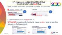 Lancement de l'opération Qualiclub