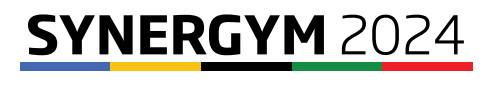 REUNION VISIO SAMEDI 17 OCTOBRE à 10H00 : Présentation du Programme SynerGym2024parJames Blateau et échanges sur le projet