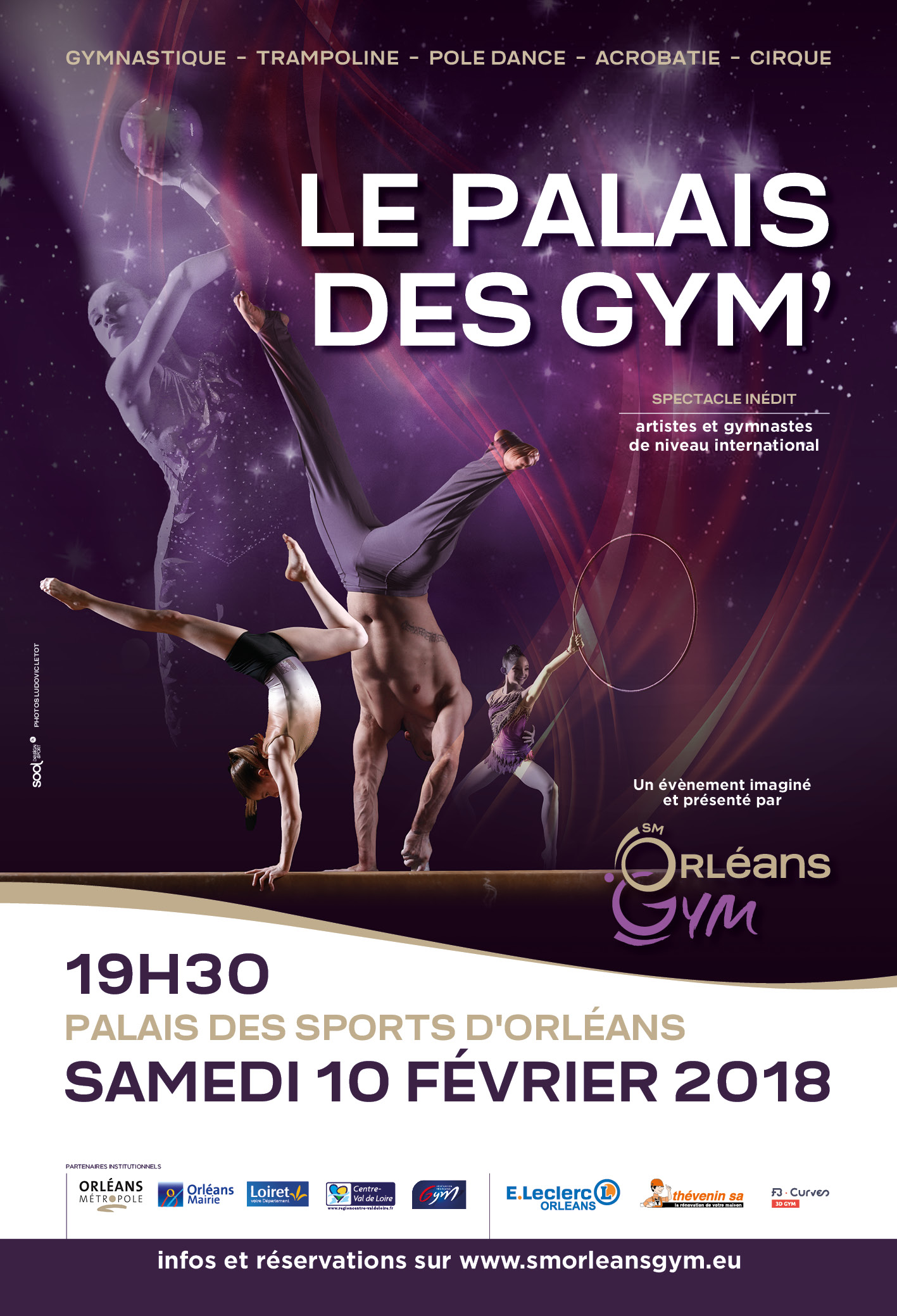 Événement : Le Palais des Gym'