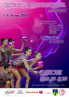 GR : Chpt Interdépt'-Ens/Duo/Equip NAT - ELANCOURT-MONTEVRAIN, les 17 et 18 mars 2018