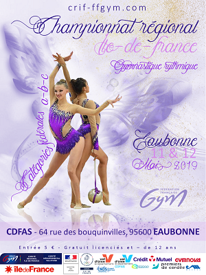 GR : Organigramme prévisionnel Chpt Régional Ens FED - Eaubonne, les 11 et 12 mai 2019