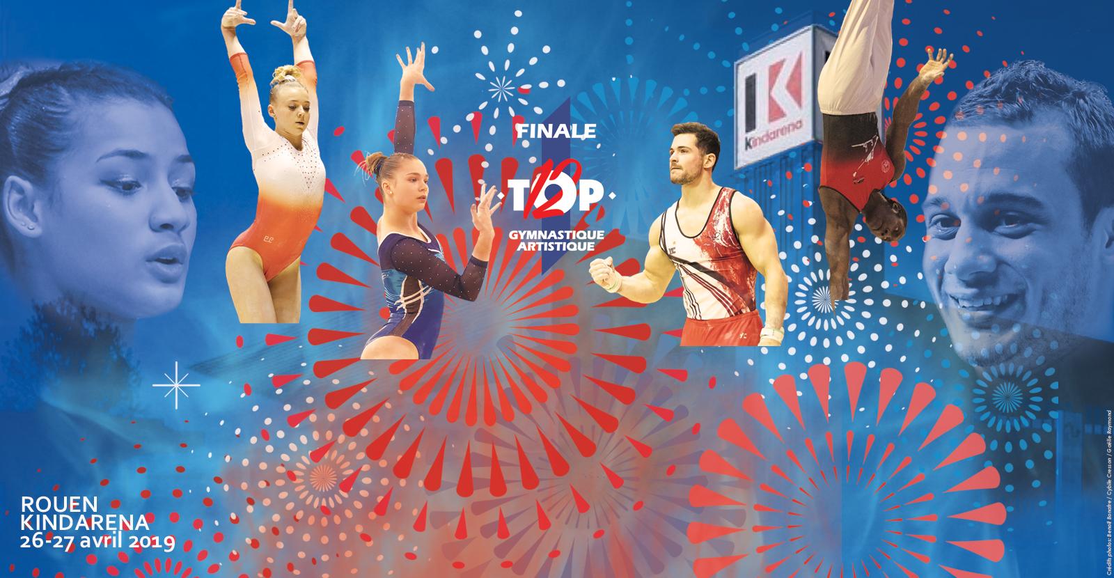 GAM/GAF : TOP12 Finale et Petite Finale - 26 et 27 avril 2019 - Rouen