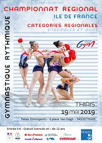 GR : Dossier Chpt Régional Ens/Duo REG - Thiais, le 19 mai 2019