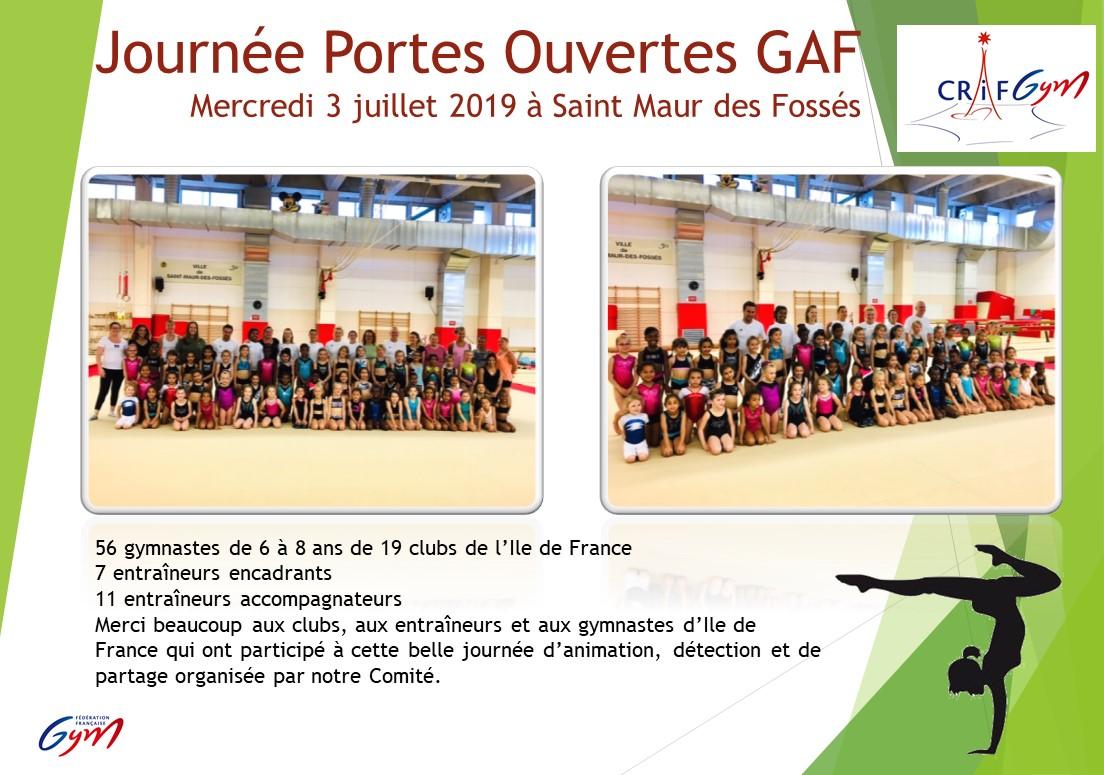 GAF : Photos journée Portes Ouvertes - 3 juillet - Saint Maur des Fosses