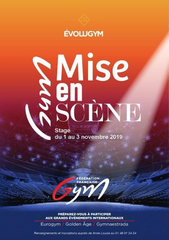 GPT : Stage Gym Scéno - Novembre 2019