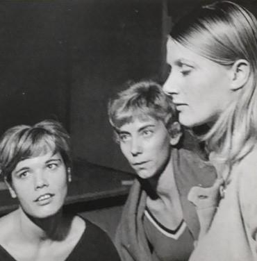 Mireille Cayre, Pierrette Aymar  et Evelyne Cordier