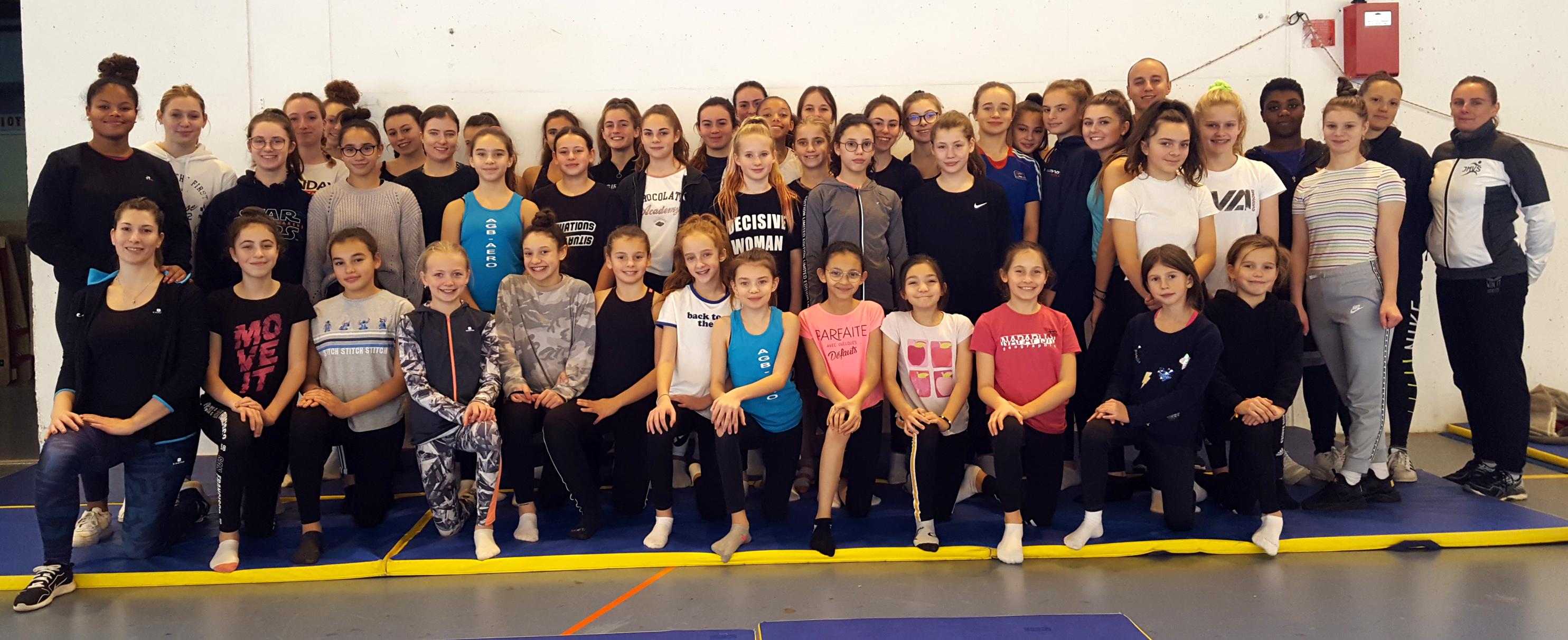 AER : Regroupement de gymnastes du 17 novembre 2019