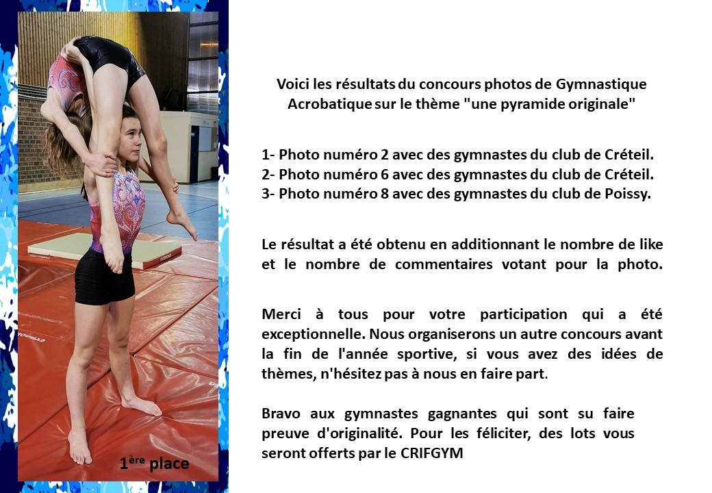"""GAC : Résultats du concours photo """"Une pyramide originale"""""""