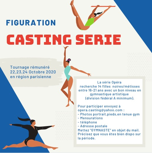 Annonce casting gym