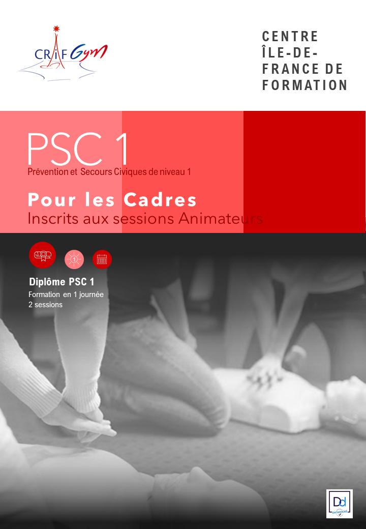 Toutes Disciplines : Formation PSC1