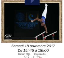 GAM : TOP 12 Clamart contre Oyonnax le 18/11/17 - affiche